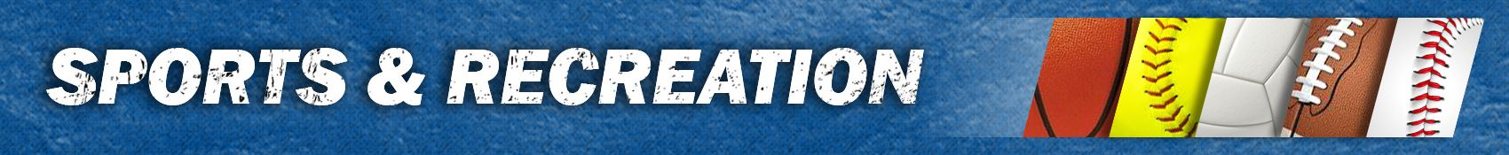 Sports and Recreation Banner